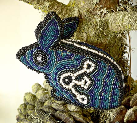beaded rabbit